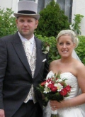 Kim and Ollie Bunton-brides