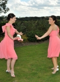 Claire and Tony Mann Bridesmaids